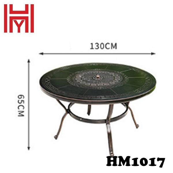 BÀN NƯỚNG ĐIỆN SÂN VƯỜN HM1017