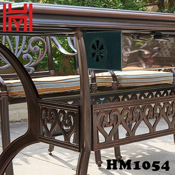 BÀN NƯỚNG ĐIỆN SÂN VƯỜN HM1054