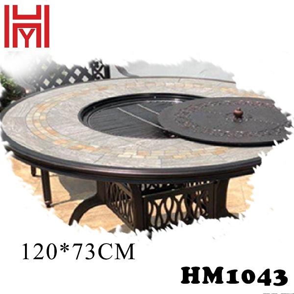 BÀN NƯỚNG SÂN VƯỜN HM1043