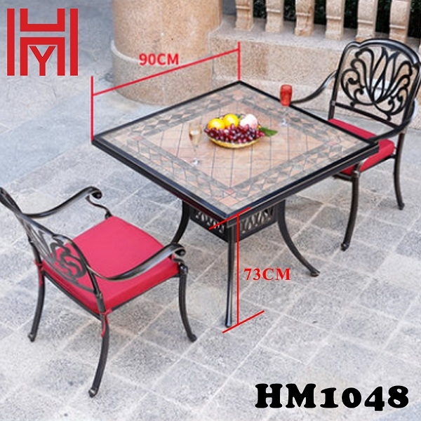 BÀN SÂN VƯỜN HM1048 HỒNG PHƯƠNG