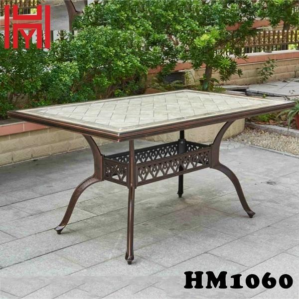 BÀN SÂN VƯỜN HM1060 BẠCH NGỌC VÂN