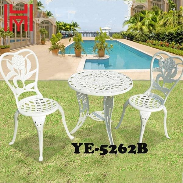 BÀN SÂN VƯỜN YE-5262B HOA HỒNG