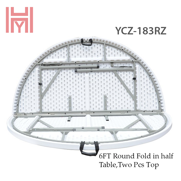 Bàn Tròn Gấp Đôi YCZ-183RZ