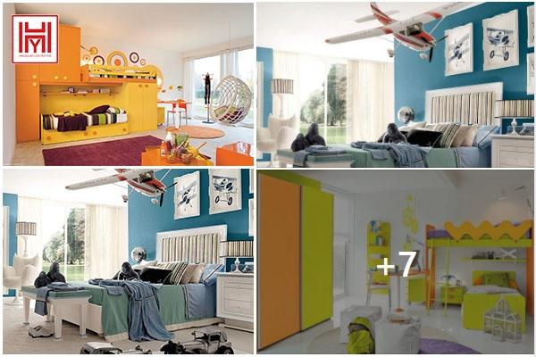 3 Style màu thiết kế nội thất phòng ngủ hiện đại cho bé yêu.