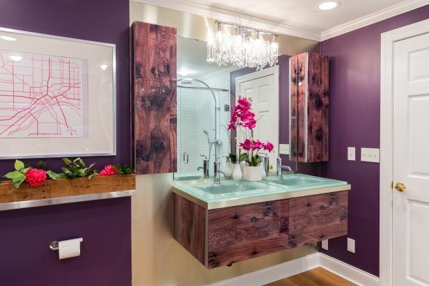 5 Ý tưởng màu sơn và trang trí cho phòng tắm nhỏ