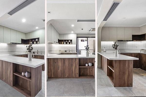 Các kiểu bếp điển hình cho căn hộ chung cư