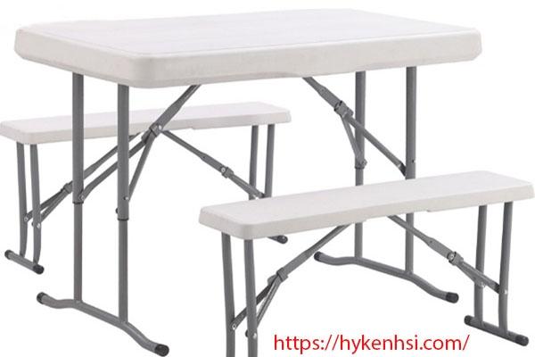 Lợi ích khi sử dụng bàn ghế gấp dã ngoại