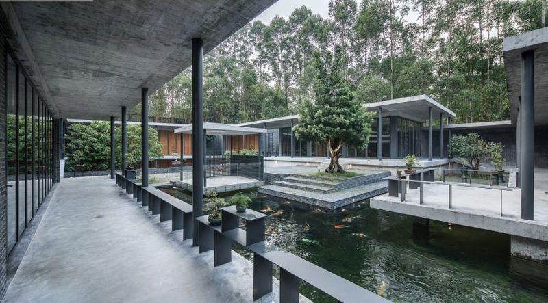 Xuýt xoa với mẫu thiết kế ôm trọn không gian vườn xanh