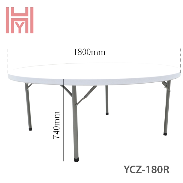 Bàn Gấp Tròn YCZ-180R