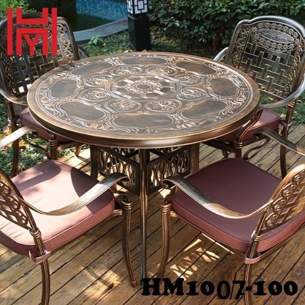 BÀN SÂN VƯỜN HM1007-100 TRUNG